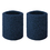 GOGO Athletic Wrist Sweatbands Pair Terry Cloth Wristband for Running Basketball Tennis