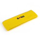 Terry Cloth Solid Color GOGO Logo Embroidery Headband