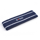 GOGO Embroidery Thick Stripe Color Head Band