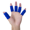 GOGO 60PCS Finger Sleeves, Elastic Finger Bands for Relieving Pain