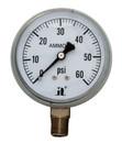 Zenport APG60 68mm Ammonia Pressure Gauges, 0 - 60 psi