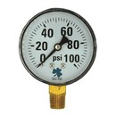 Zenport DPG100 Zen-Tek 0-100 PSI Dry Pressure Gauge