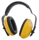 Zenport EM106 Adjustable headband Ear Muffs-Comfortable, Lightweight, Yellow in color with black band