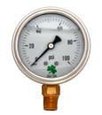 Zenport LPG100 PRESSURE GAUGES - 63mm Glycerin 'Liquid' Filled Pressure Gauges, 0 - 100 psi