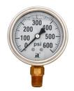 Zenport LPG600 Zen-Tek 0-600 PSI Liquid Glycerin Pressure Gauge