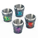 Dragon Crest 10018444 Mythical Dragons Shot Glass Set Of 4