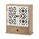 Accent Plus 10019023 Geo Pattern Wall Cabinet