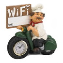 Accent Plus 10019052 Chef W/Wifi Sign And Clock