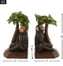 Accent Plus 10019137 Monkey Bookends