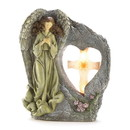 Wings of Devotion 57070073 Angel Prayer Solar Light