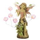 Summerfield Terrace 57070076 Peony Fairy Solar Statue