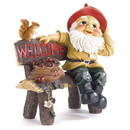 Summerfield Terrace 57070084 Garden Gnome Greeting Sign