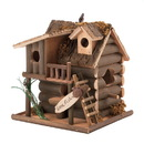 Songbird Valley 57070125 Fishing Cabin Birdhouse