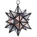 Gallery of Light 57070467 Moroccan Hanging Star Lantern