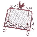 Accent Plus 57071292 Country Red Rooster Recipe Book Holder
