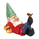 Summerfield Terrace 57071580 Lazy Gnome Solar Statue