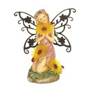 Summerfield Terrace 57071587 Garden Blooms Fairy Solar Statue