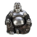 Accent Plus 57071627 Happy Sitting Buddha Statue