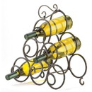 Accent Plus 57071689 Scrollwork Wine Rack