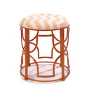 Accent Plus 57072293 Chic Chevron Stool