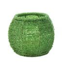 Zingz & Thingz 57072420 Emerald Green Beaded Candleholder
