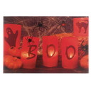 Accent Plus 57072847 Boo Halloween Led Wall Art