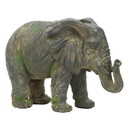 Accent Plus 57073420 Weathered Elephant Statue