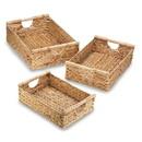 Accent Plus 57073450 Water Hyacinth Nesting Basket Set