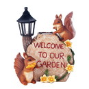Summerfield Terrace 10018203 Solar Welcome To Our Garden Squirrels