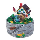 Summerfield Terrace 10018279 Storybook Home Gnome Solar Statue