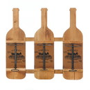 Accent Plus 57074101 Cork Design Wine Bottle Holder