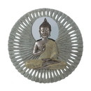 Accent Plus 10018339 Buddha Circular Wall Decor