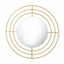 Zingz & Thingz 57074377 Golden Circles Wall Mirror