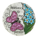 Summerfield Terrace 57074384 Pink Butterfly Garden Stepping Stone