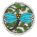 Summerfield Terrace 57074388 Blue Dragonfly Garden Stepping Stone