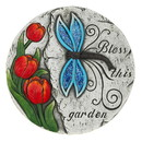 Zingz & Thingz 57074390 Bless This Garden Dragonfly Stone