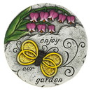 Zingz & Thingz 57074394 Enjoy Our Garden Butterfly Stone