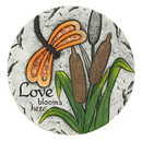 Zingz & Thingz 57074398 Love Blooms Here Garden Stone