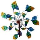 Summerfield Terrace 57074524 Peacock Tail Windmill Garden Stake