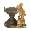 Summerfield Terrace 57074552 Playful Bunnies Bird Feeder